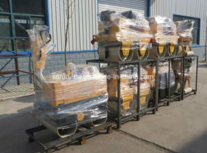 Hydraulic Walk Behind Double Drum Vibratory Road Roller (FYL-800) pictures & photos