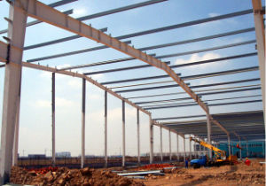 Good Quality Low Price Light Steel Structure Frame Building (QDWF-005) pictures & photos