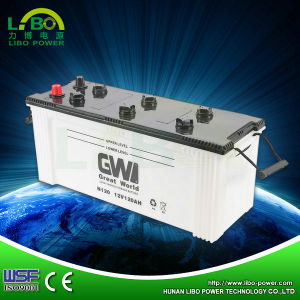 High Performance 12V 120ah Dry Battery N120 External Battery Charger