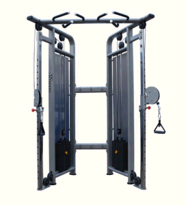 Dual Adjustable Pulley, Fitness Body Building Gym Strength Equipment pictures & photos