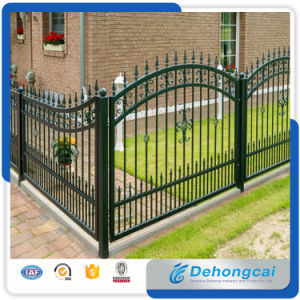 Premium Quality, Durable Metal Fence, Ornamental Fence, Classic Fence, Decorative Wrought Iron Fence for Garden, Pool pictures & photos