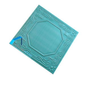 Blue Color Anaglyptic Faux Polystyrene Ceiling/EPS Foam Ceiling pictures & photos