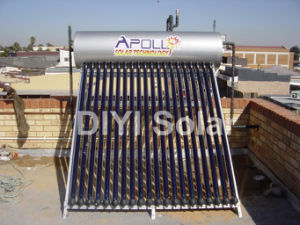 High Pressure Solar Geyser with 20 Tubes