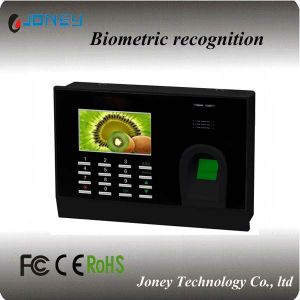 TCP IP 125kHz 13.56MHz Punch Card Machine Biometric Fingerprint Time Attendance System (JYF-799) pictures & photos