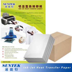 Light Color Thermal Transfer Paper Heat Press Printing Paper pictures & photos