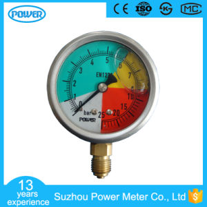 Liquid Filled Pressure Gauge with Ce Certificate pictures & photos