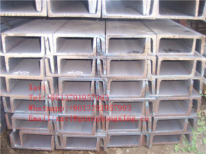 Steel U Channel Bars for Construction/Structure pictures & photos