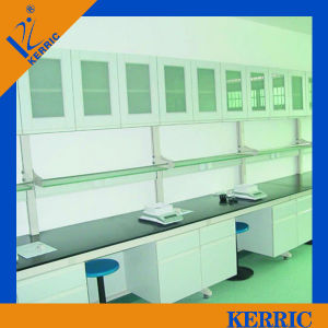School Laboratory Furniture Laboratory Working Bench with Wall Cabinet