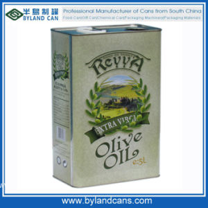 5liters Tin Can for Olive Oil