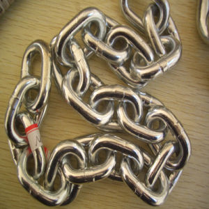 Galvanized Connecting Metal Steel Link Chain pictures & photos