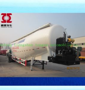 Tri-Axle Bulk Cement Powder Tanker Semi Trailer pictures & photos