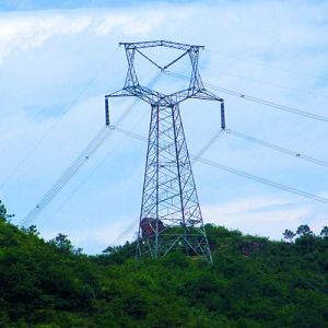220kv Oxytropis Type Linear Power Transmission Steel Tower pictures & photos