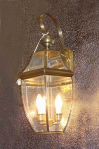 Pw-19034 Copper Wall Light with Glass Decorative pictures & photos