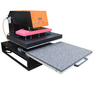 Pneumatic Sublimation Heat Press Machine Large Size 80X100cm pictures & photos