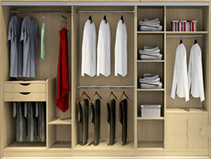Modular Closet of Modern Design Bedroom Furniture (Br-30-E) pictures & photos