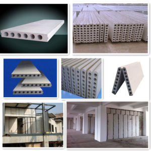Concrete Lightweight Compound Wall Panel Making Machine pictures & photos