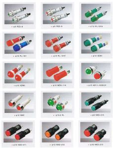Ad22, Ad16, 12, 10 Indicator Lamp, Lamp, LED Lamp, LED Light, Warning Light, Signal Lamp pictures & photos