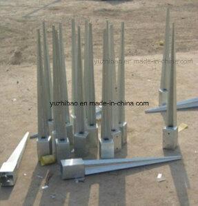 Screw Anchor, Galvanized Pole Anchor, Ground Spike, Ground Screw Anchor