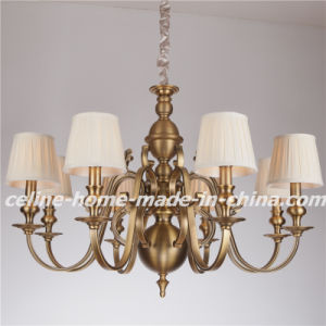Iron Lighting Fixture with Fabric Decoration (SL2091-6) pictures & photos