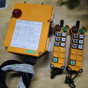 F24-6D Handheld Industrial Wireless Remote Control for Eot Crane pictures & photos