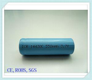 14430-550mAh, Audio, Battery Pack, E-Cigarette Battery, Camera Battery, Li Ion Battery