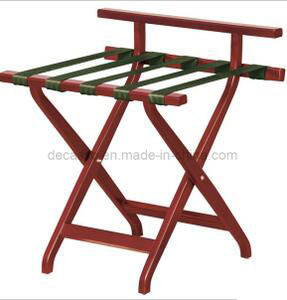Good Quality Solid Wooden Luggage Rack Da13 pictures & photos