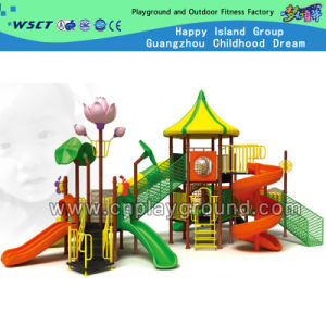 2015 Promotion Colorful Mutli-Game Children Outdoor Playground (HD-3601) pictures & photos