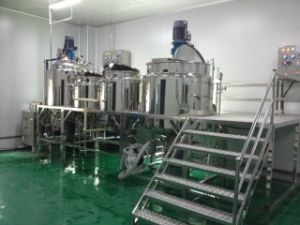 Stainless Steel 316L Chemical Mixing Tank with Agitator pictures & photos