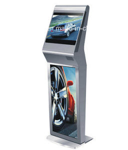 32inch Free Standing LCD Interactive Computer Kiosk with Win7 System pictures & photos