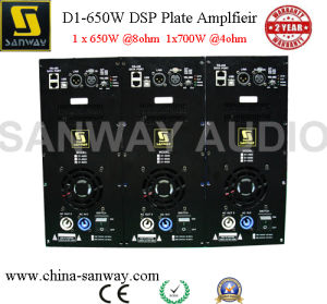 D1-650d Class D Self Powered Plate Amplifier with DSP pictures & photos