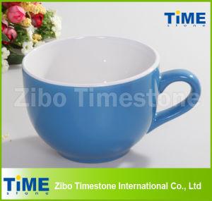 Bright Color Glaze Ceramic Soup Mug pictures & photos