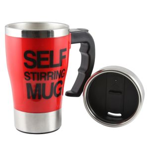 Self Stirring Stainless Steel Mug 16oz Coffee Mug Auto Mixing Hot Mug Personalized S/S Cup pictures & photos
