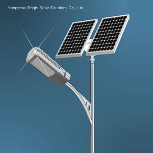 LED Solar Street Light, Customized Design Golden Quality High Lumen 30W-120W LED / 6m -12m Pole pictures & photos