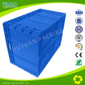Blue Color Transportation Logistic Plastic EU Container pictures & photos