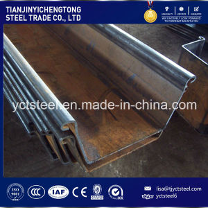 Hot Seall! ! ! U / Z Type Hot Rolled Steel Sheet Pile Made in China Q345b S355 pictures & photos