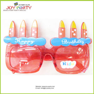 Happybirthday Candle Plastic Party Glasses for Kids pictures & photos