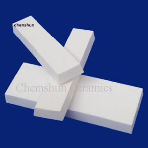 Industrial Alumina Ceramic Tapered Tiles Wear Liner Plate for Pipe Sleeves pictures & photos