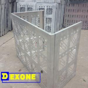 Decorative Engraved Metal Aluminum AC Cover