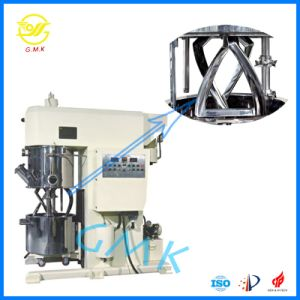 Li-Thium Cathode Slurry Battery Mixing 60L Double Planetary Disperser Mixer pictures & photos