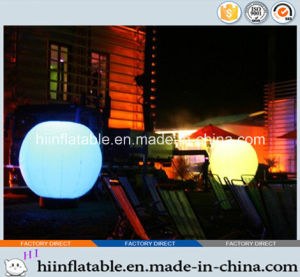 2015 Hot Selling Decorative LED Lighting Inflatable Ball 0016 for Event, Celebration