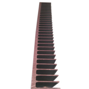 China Anodized Electronic Radiator Insert Radiator Aluminium Extrusion Profiles for Computer LED pictures & photos