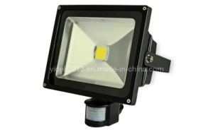 High Power LED Floodlight Outdoor 50W RGB with PIR Sensor pictures & photos