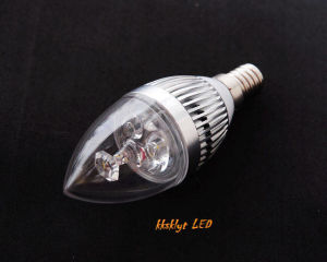 LED Candle Light Silver 2 Year Warranty