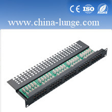 48 Pairs Patch Panel with Module pictures & photos