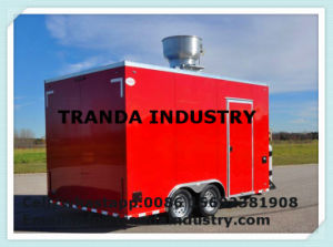 Mobile Kitchen Fully Equipped Brand New Food Trailer pictures & photos