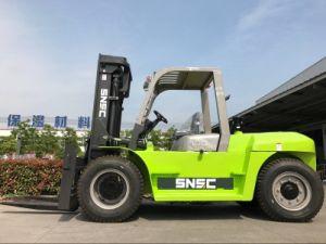 10 Tons Chariot Elevateur Diesel Forklift pictures & photos