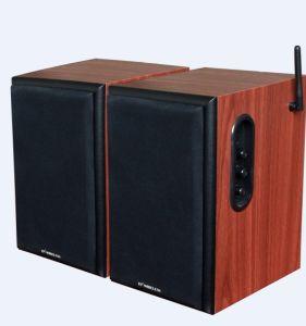 Wireless Bookshelf Speaker (2.4GHz, 2.0 channel, 50W) pictures & photos