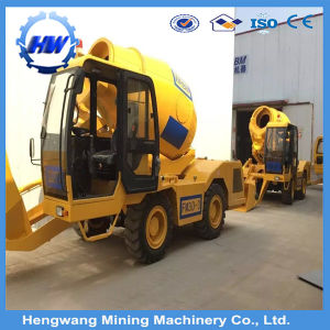 3.5m3 Self Loading Concrete Mixer Truck Used for Concrete Mixing pictures & photos