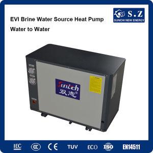 Russia Winter Radiator Heating 100~350sq Meter Room 10kw/15kw/20kw/25kw Brine Water Source Water Heater pictures & photos