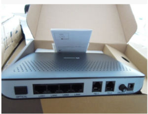 Huawei 4port FTTH Gpon ONU Terminal ONU 4ge+2voice+IPTV, SIP or H. 248, English Firmware